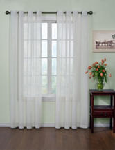 Arm and Hammer™ Curtain Fresh™ Odor-Neutralizing White Curtain Panel