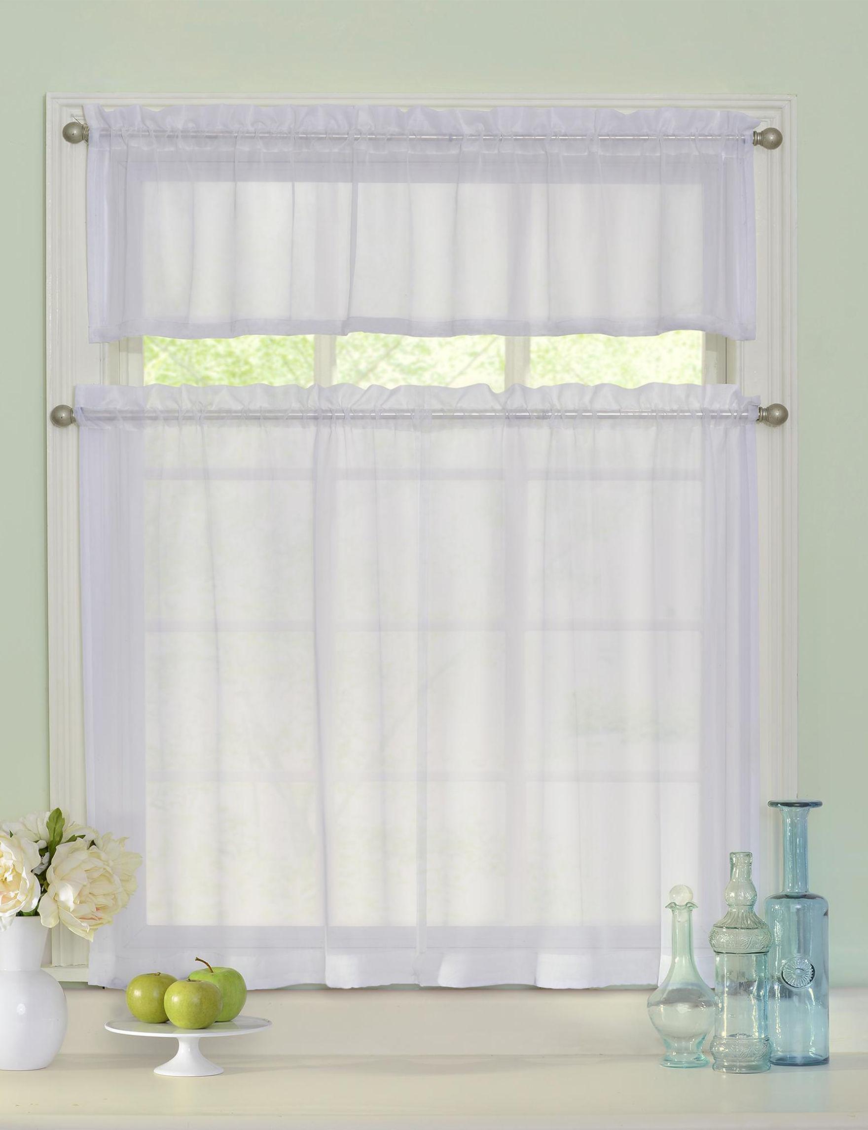 Curtain Fresh White Valances
