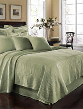 Historic Charleston Collection King Charles Matelasse Coverlet