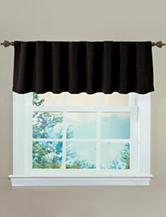Ellery Sound Asleep Black Room-Darkening  Window Valance