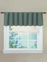 Ellery Sound Asleep Sage Green Room-Darkening Window Valance