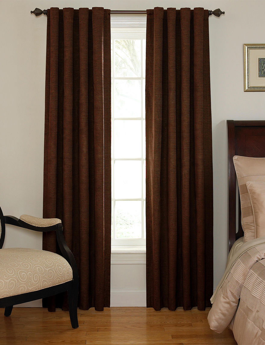 Ellery Chocolate Curtains & Drapes