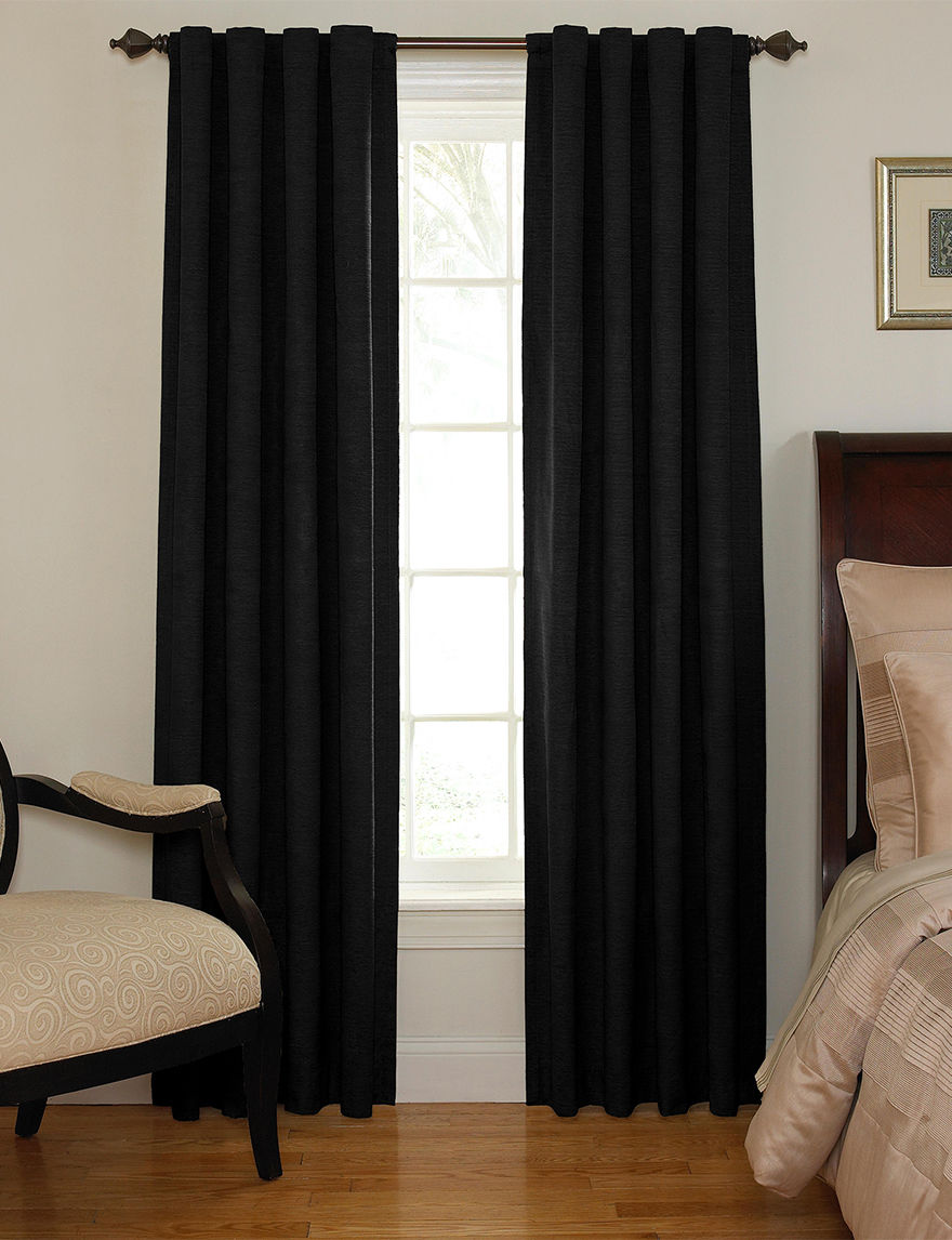 Ellery Black Curtains & Drapes