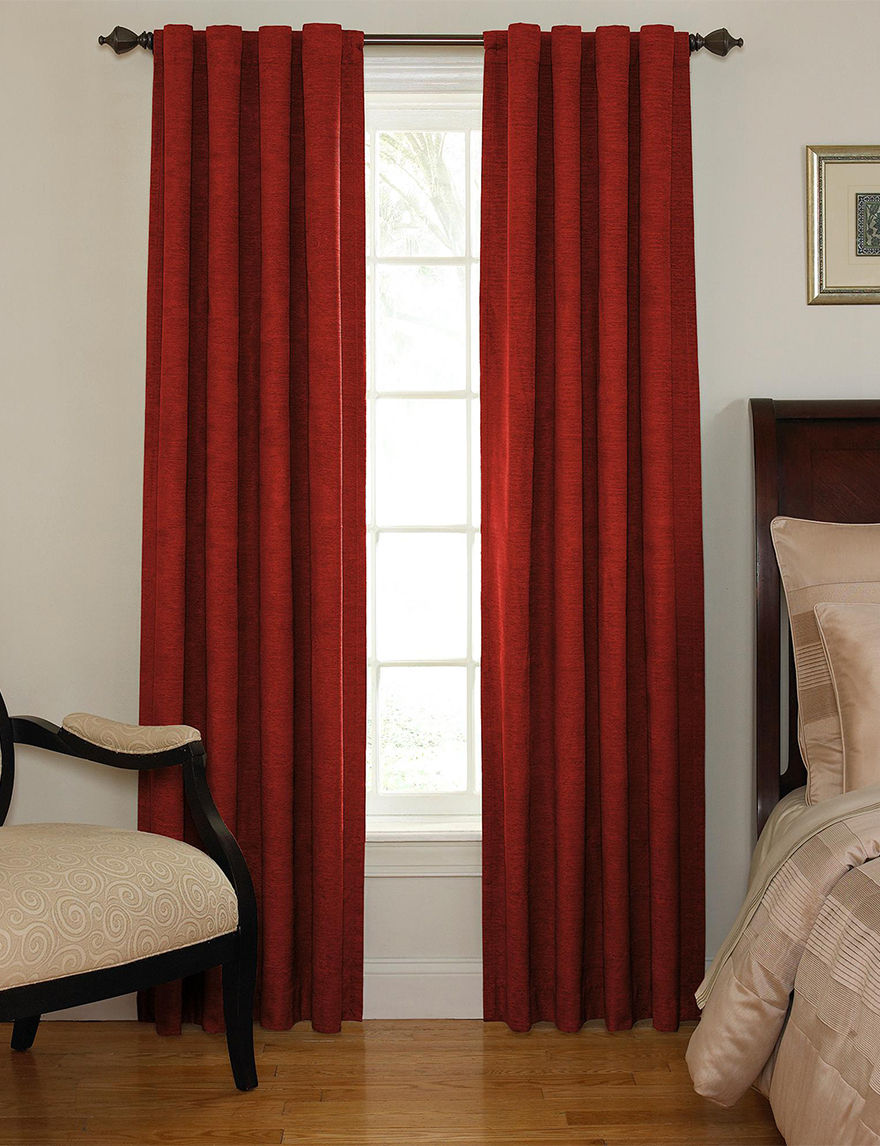 Ellery Sangria Window Treatments