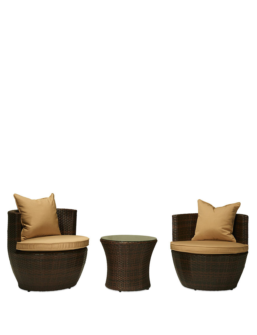 Thy-Hom Dark Brown Patio & Outdoor Furniture