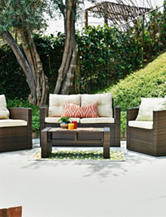 Thy-Hom 4-pc. Roatan Outdoor Wicker Conversation Set