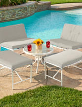 Thy-Hom 5-pc. Della Patio Conversation Set