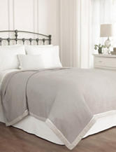 Ellery Vue Signature Bamboo Grey Fashion Blanket