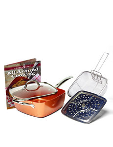 As Seen on TV Copper Dinnerware Sets Cookware