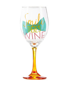Formation Smile, There's Wine Novelty Wine glass