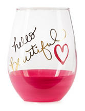 Formation Hello Beautiful Stemless Wine Glass