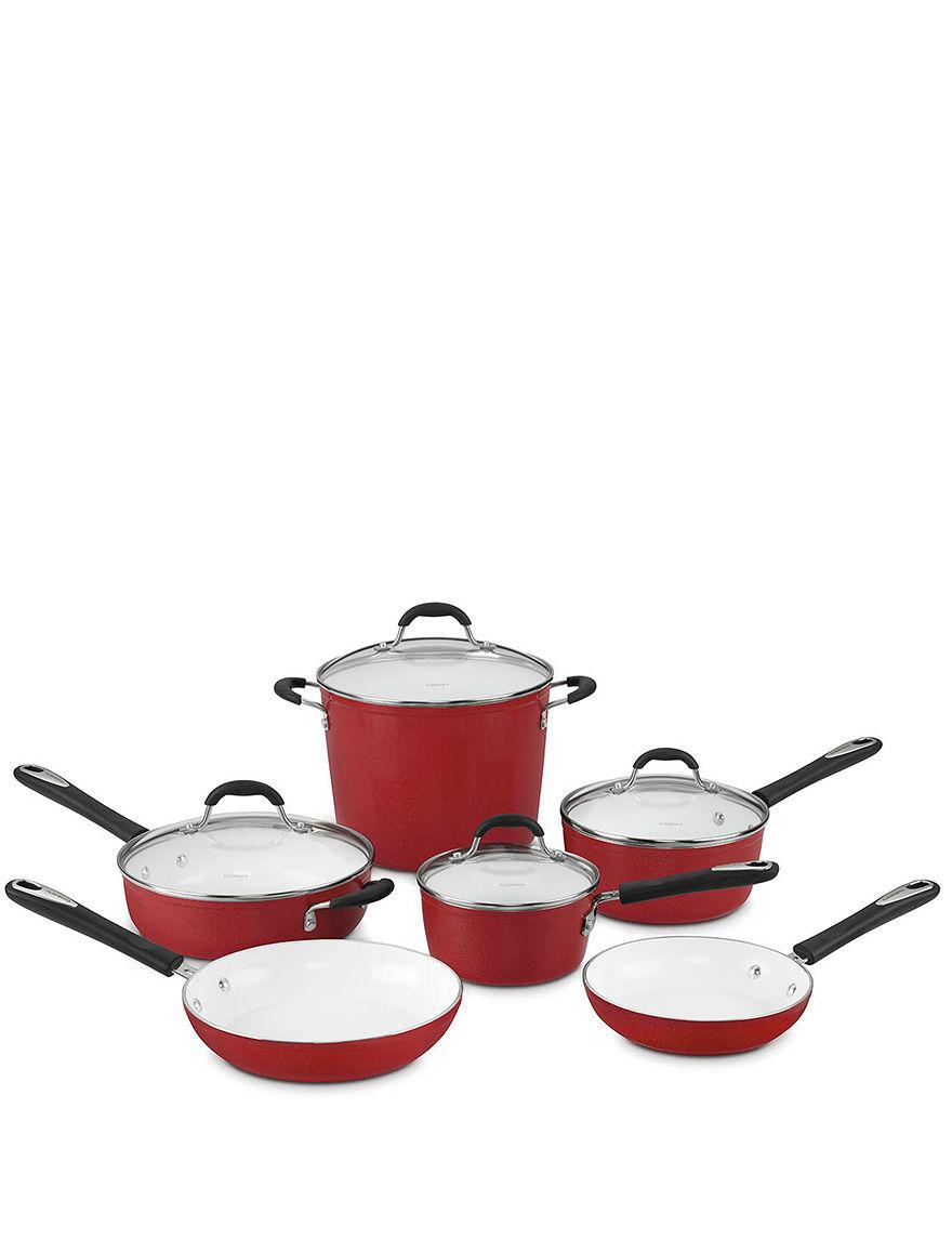 Cuisinart Red Cookware Sets Cookware