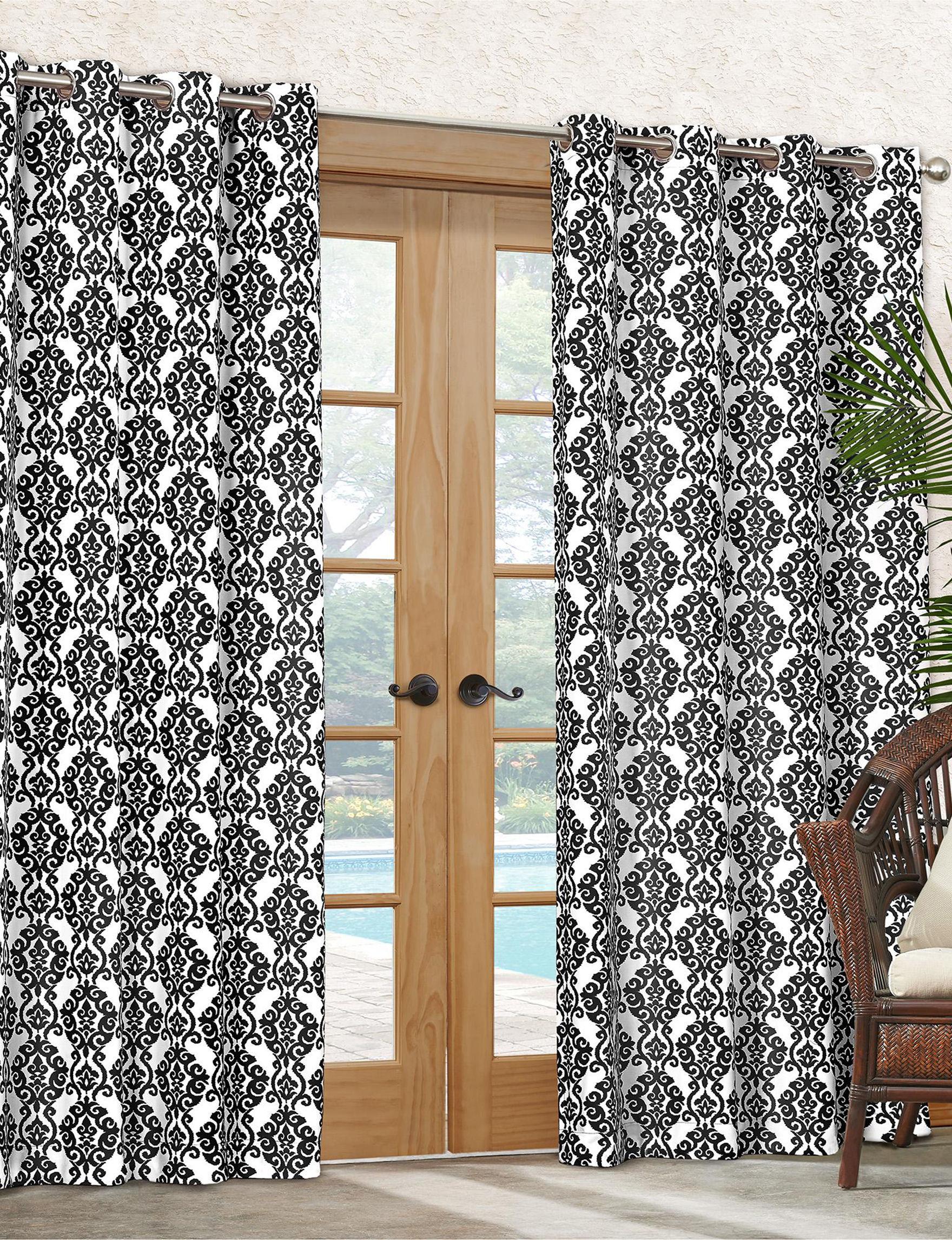 Waverly Licorice Curtains & Drapes Window Treatments