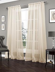 Ellery Vue Signature Carrington Sheer Gold Curtain Panel