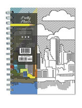 TFI Publishing Pretty Places Coloring Journal