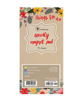 TFI Publishing Things To Do Magnetic Pad