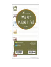TFI Publishing Magnetic Weekly Pad