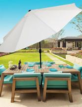 Trademark Global 10-ft. Aluminum Patio Umbrella with Auto Tilit