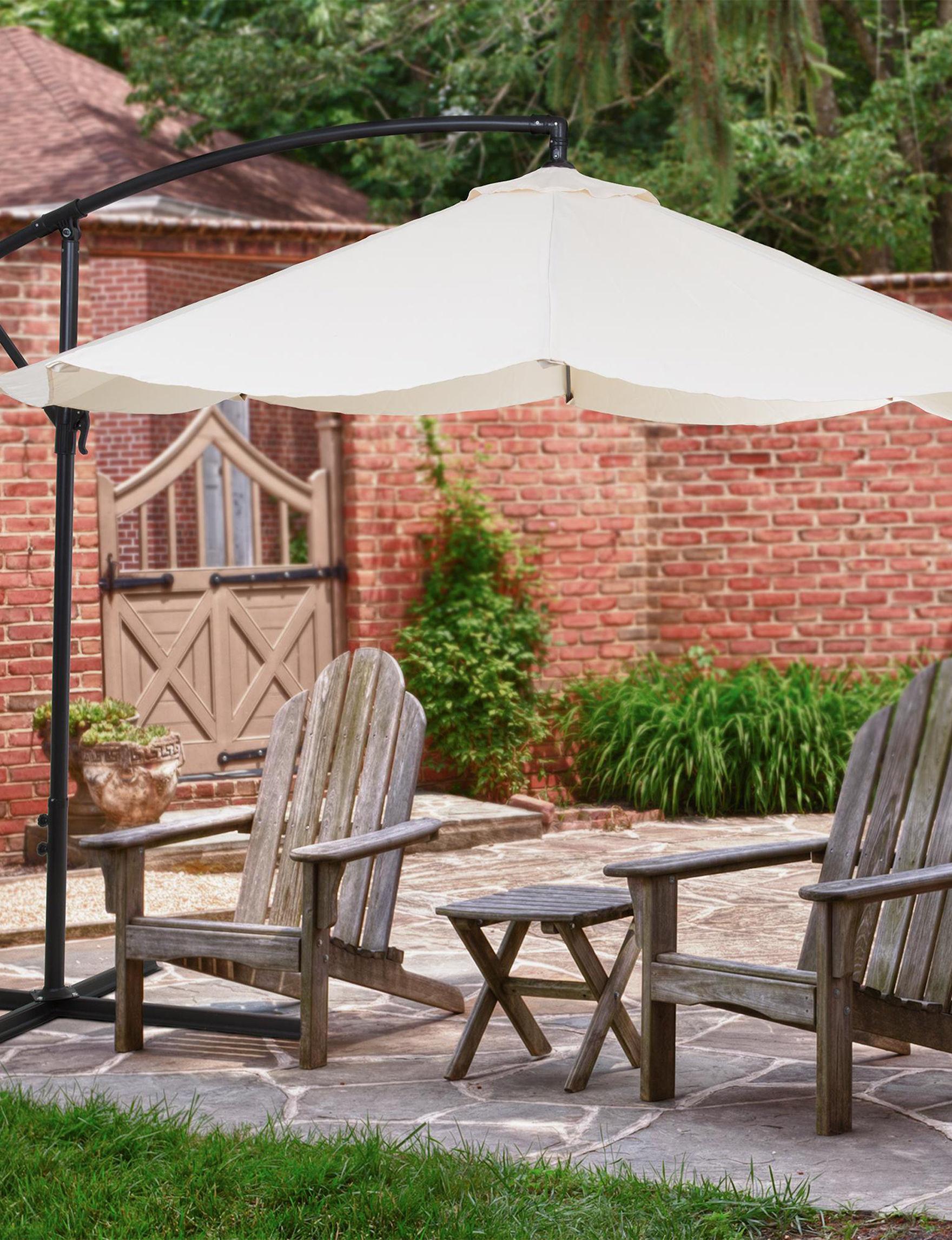 Trademark Global Tan Outdoor Decor Outdoor Entertaining Patio & Outdoor Furniture