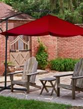 Trademark Global 10 ft. Aluminum Cantilever Patio Umbrella