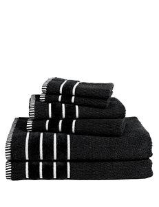 Lavish Home 6-pc. Rice Weave Egyptian Cotton Towel Set
