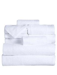 Lavish Home 10-pc. Ribbed Egyptian Cotton Towel Set