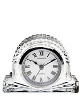Godinger Crystal Mantle Clock