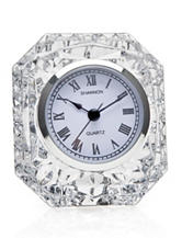 Godinger Emerald Crystal Clock