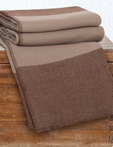 Lavish Home Dark Beige Blankets & Throws