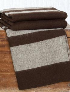 Lavish Home Australian Stripe Wool Blanket