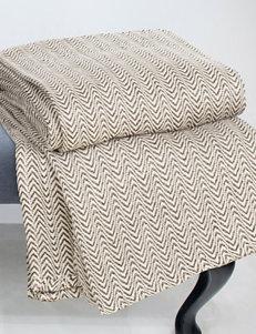 Lavish Home Chocolate Blankets & Throws