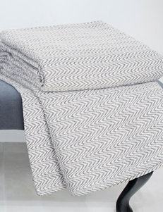 Lavish Home Charcoal Blankets & Throws