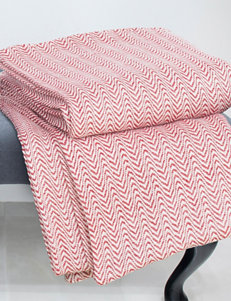 Lavish Home Red Blankets & Throws