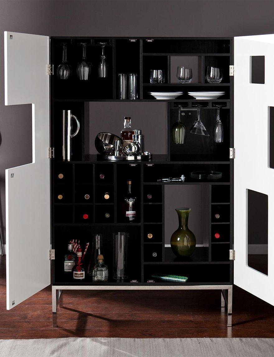 Southern Enterprises Black Wine Racks