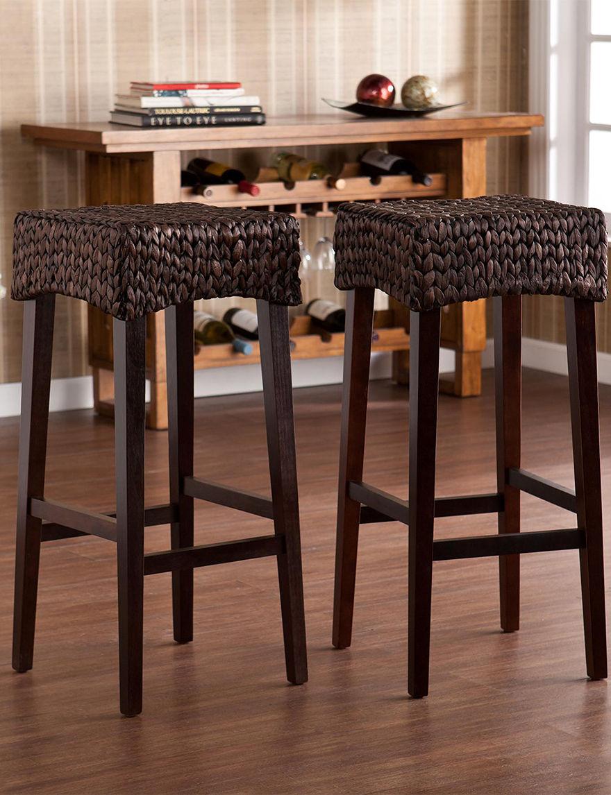Southern Enterprises Brown Bar & Kitchen Stools Kitchen & Dining Furniture