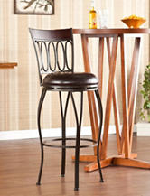 Southern Enterprises Brookshire Swivel Bar Stool
