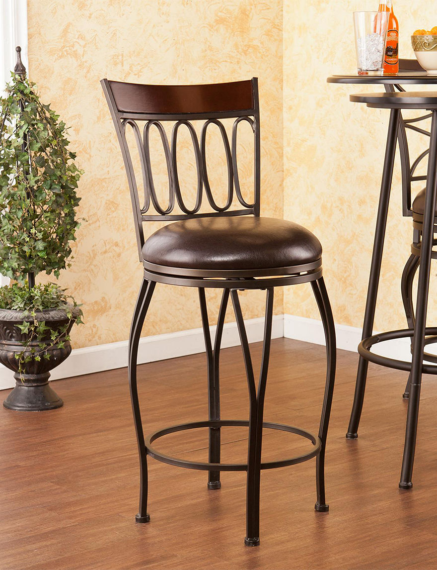 Southern Enterprises Champagne Bar & Kitchen Stools