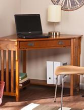 Southern Enterprises Corner Computer Desk