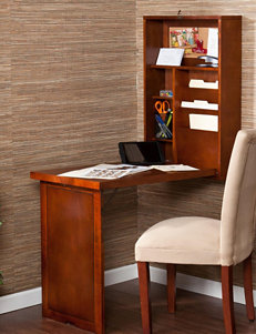 Southern Enterprises Fold-Out Convertible Desk