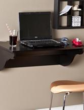 Southern Enterprises Barrie Wall Mount Desk Ledge