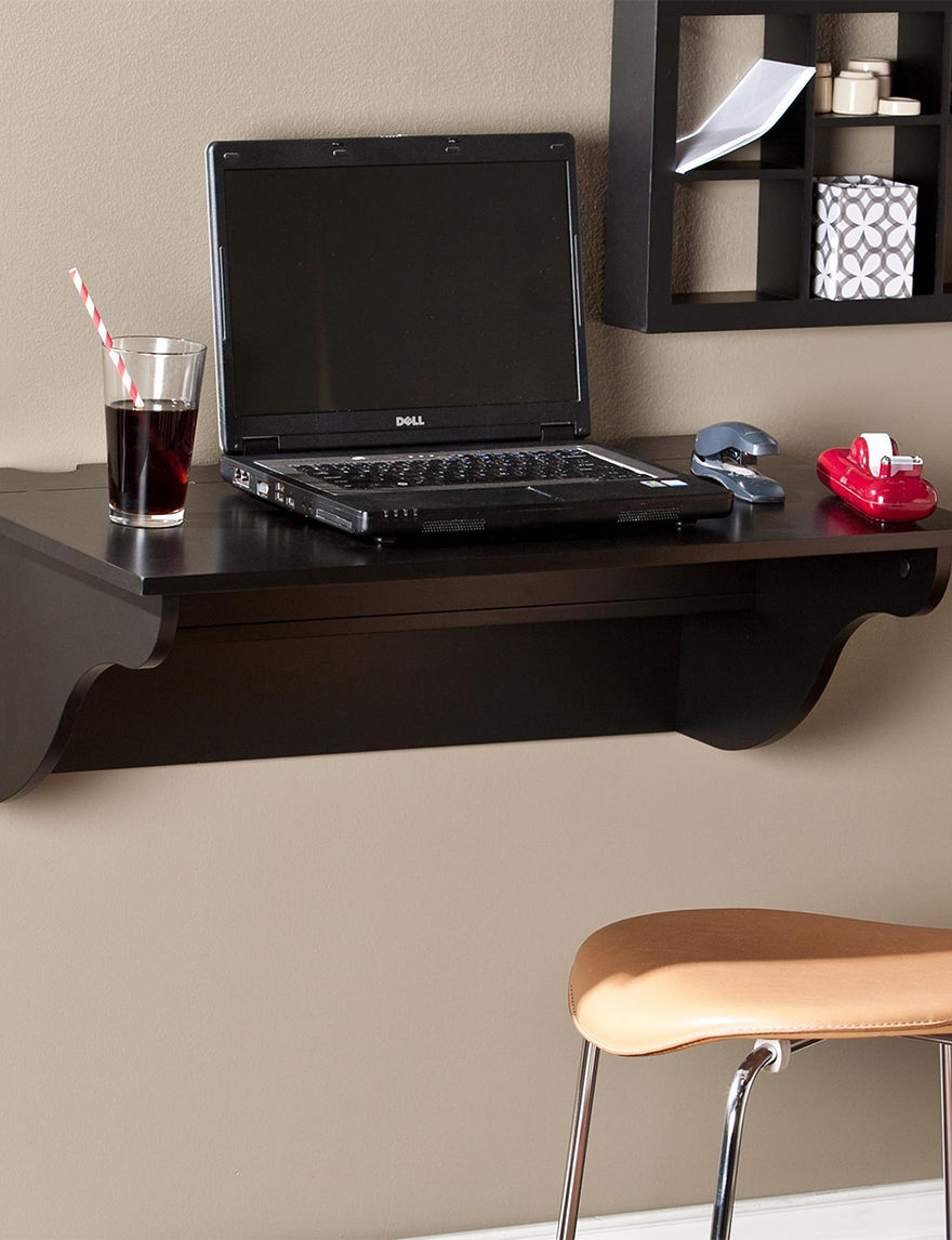 Southern Enterprises Black Desks Home Office Furniture