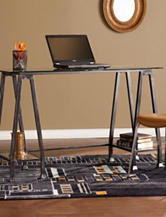 Southern Enterprises Metal A-Frame Desk