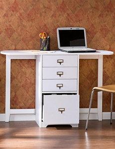 Southern Enterprises Fold-Out Organizer & Craft Desk