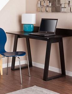Southern Enterprises Black Desks Home Office Furniture