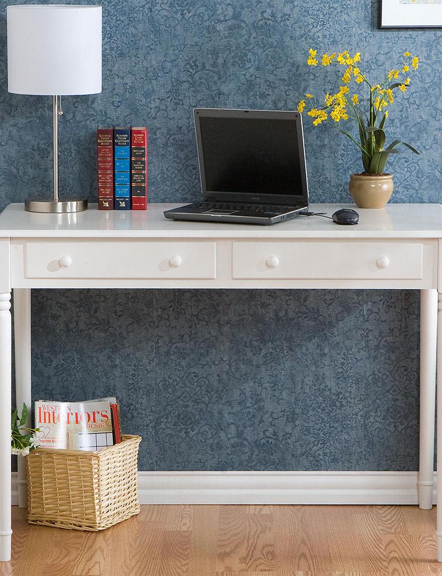 Southern Enterprises White Desks Home Office Furniture