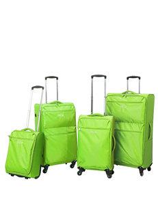 Travelers Club Luggage Green