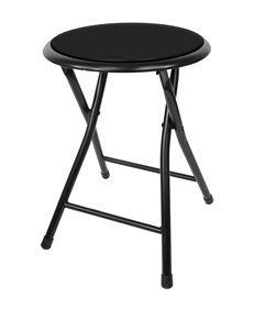 Trademark Global Black Bar & Kitchen Stools Living Room Furniture