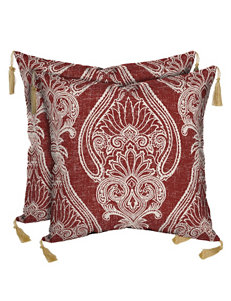 Bombay Red Decorative Pillows Outdoor Decor