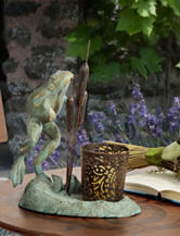 Bombay Leaping Frog Votive Candle Holder