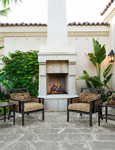 Bombay Black / Gold Patio & Outdoor Furniture